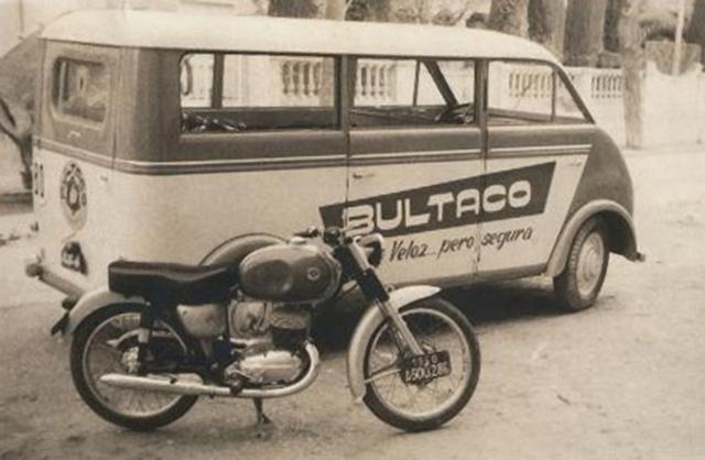 bultaco - La furgoneta DKW de Bultaco Bultac11