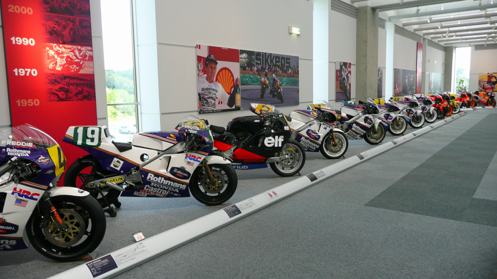 Visita Virtual al Museo Honda Motorc10