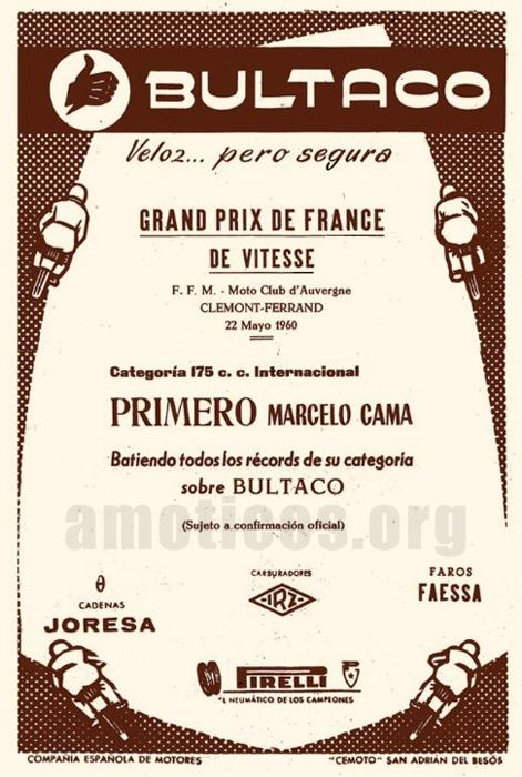 Bultaco GP 175 - Pájaro Loco - Página 2 Pajaro11