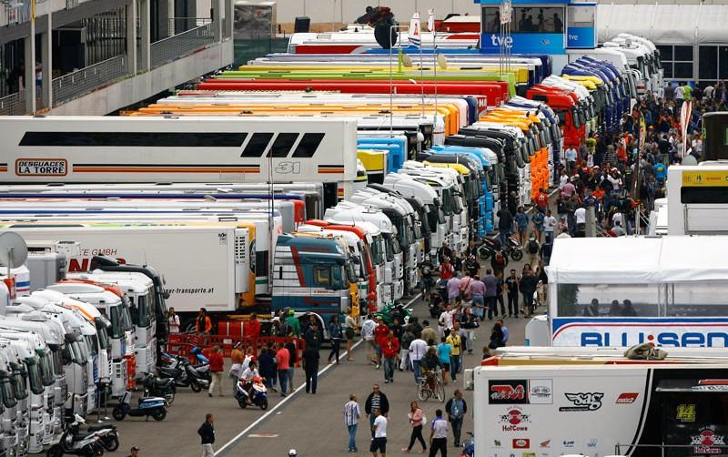 Camiones equipos de carreras de motos Promo-10