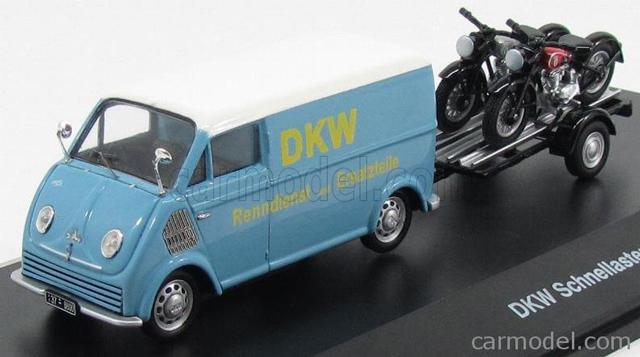 bultaco - La furgoneta DKW de Bultaco Schuco10