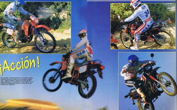 yamaha - Duelo Yamaha DT 80 contra Honda MTX80 Sin-tz12
