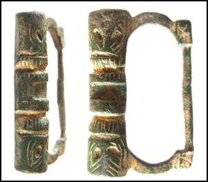 Hebilla sobredorada, siglo XIII Nieuwe10