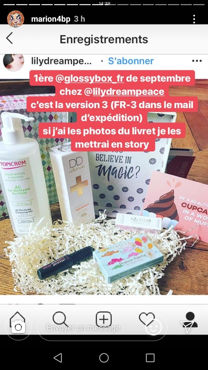 [Septembre 2018] Glossybox  - Page 3 Screen13