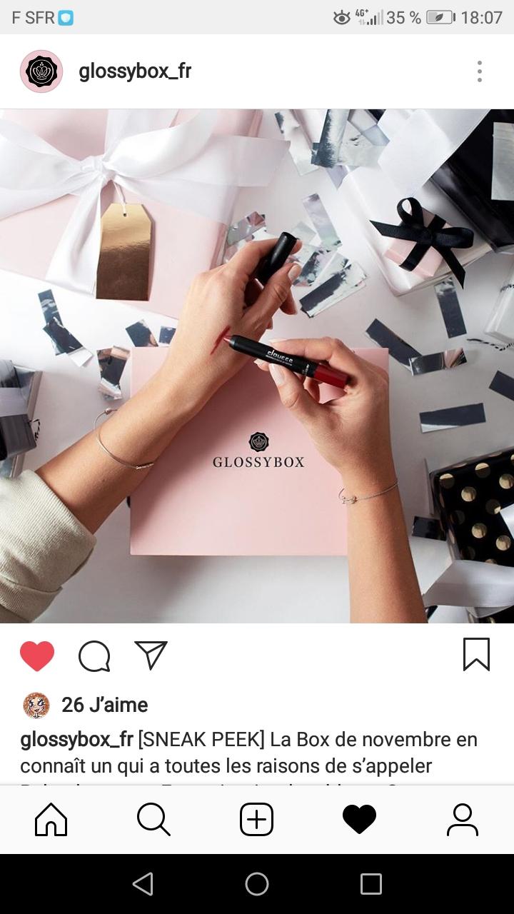 [Novembre 2018] Glossybox   Screen15