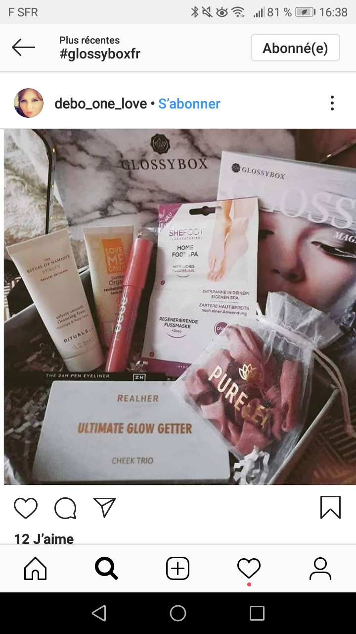 [Décembre 2019] Glossybox   Screen33