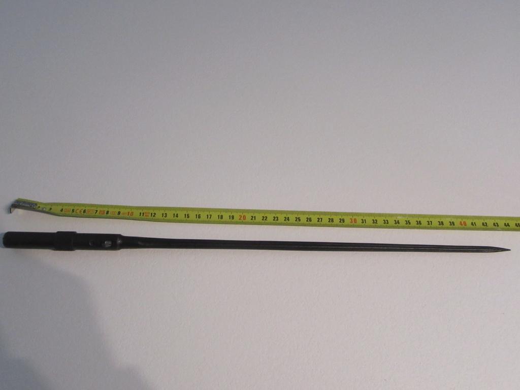 baionnette carcano M 1891 ? et Mas 36 en identification et  estimation  Img_4413