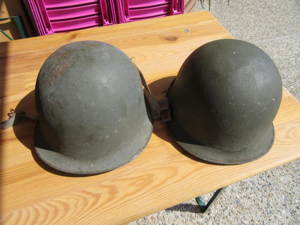 2 casques Lourds  51 MAMOU 1956 customisés Img_6420