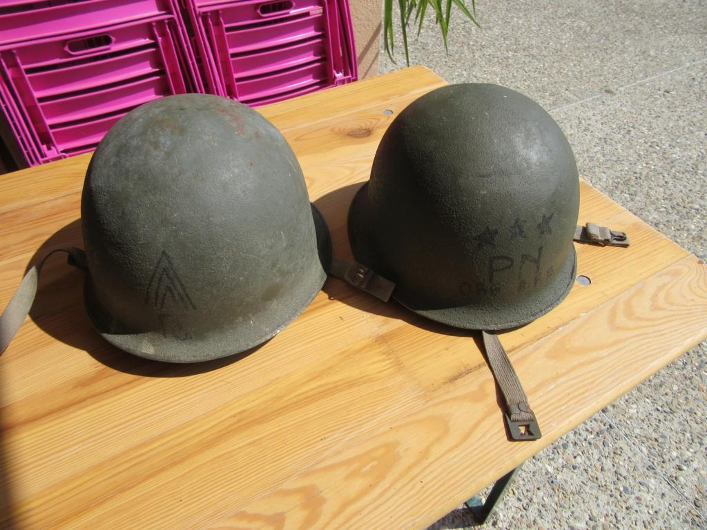 2 casques Lourds  51 MAMOU 1956 customisés Img_6421