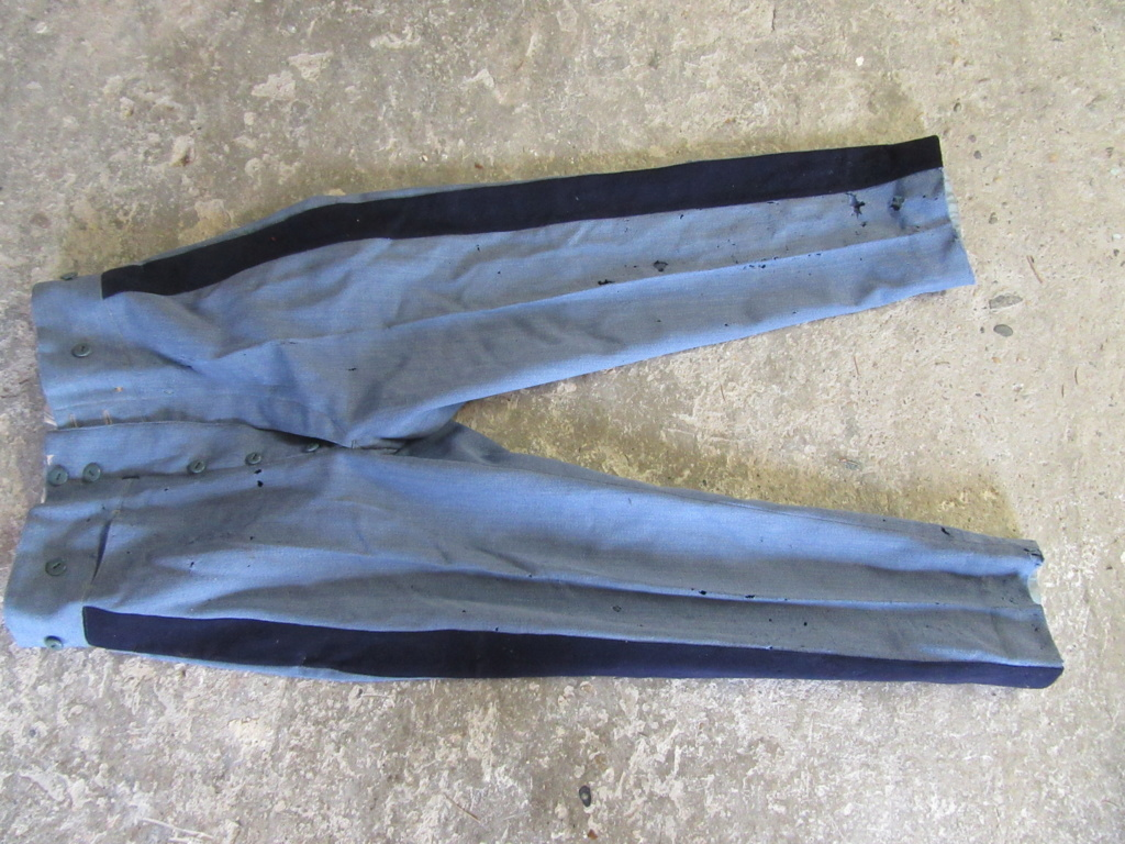Pantalon officier 14 18 bleu horizon. Img_8926