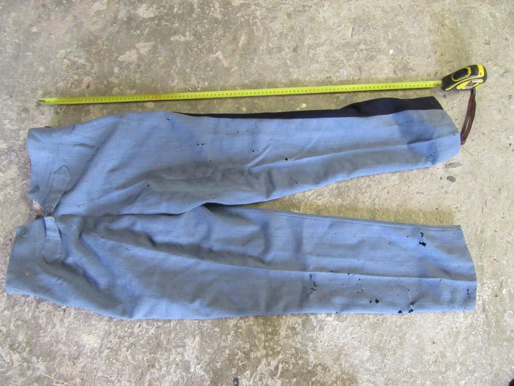 Pantalon officier 14 18 bleu horizon. Img_8928