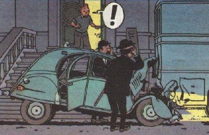 La collection Tintin au 1/24 . - Page 5 Tintin10