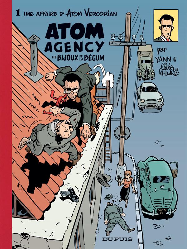 Atom Agency par Yann et Schwartz Atom-a10