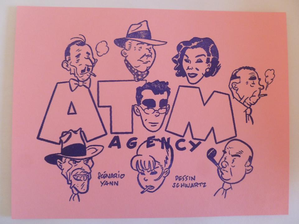 Atom Agency - Atom Agency par Yann et Schwartz Baa1010