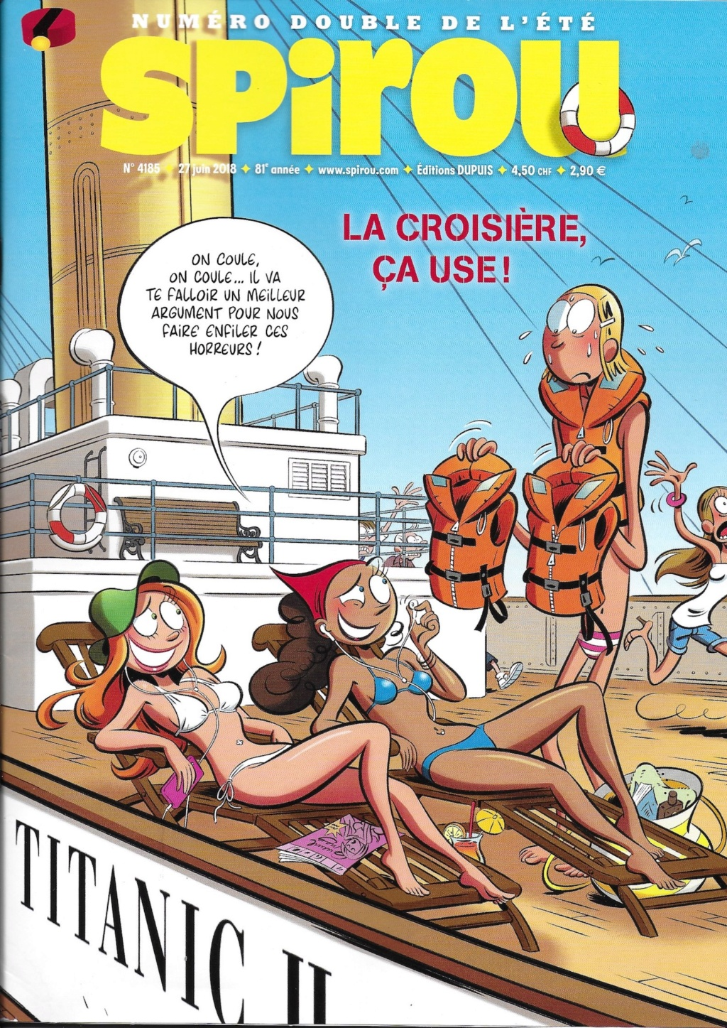 Spirou ... le journal - Page 23 Couver10