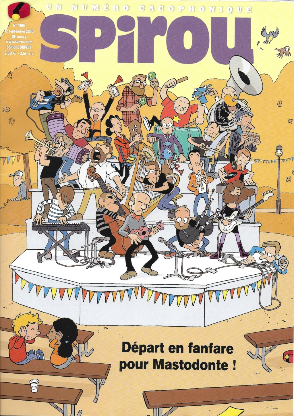 Spirou ... le journal - Page 24 Couver21