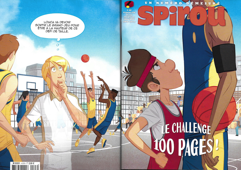 Spirou ... le journal - Page 25 Couver24