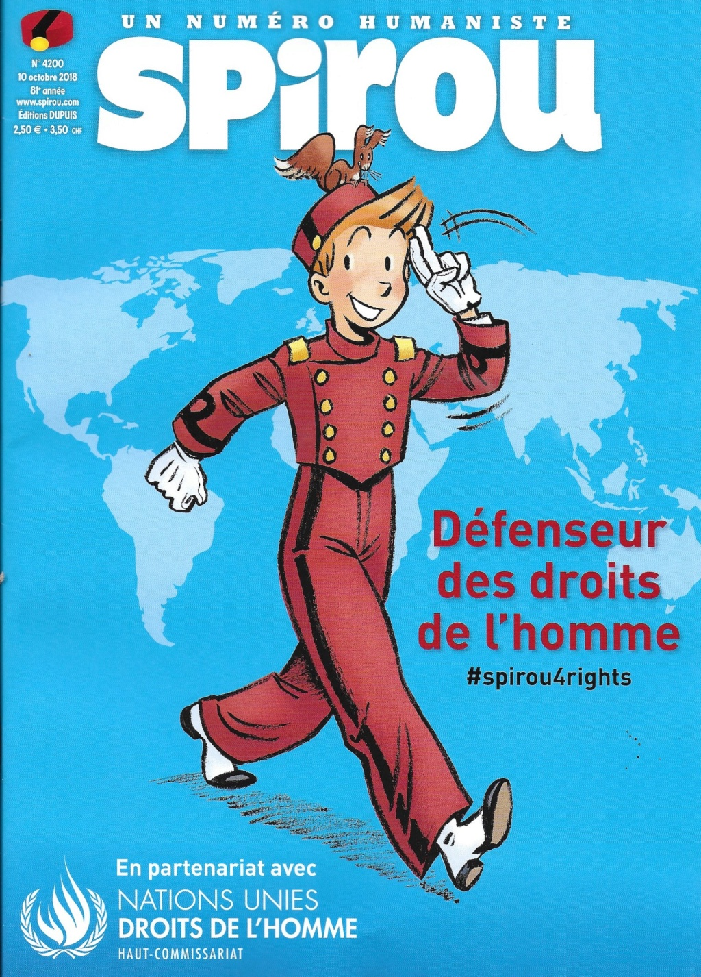 Spirou ... le journal - Page 25 Couver27