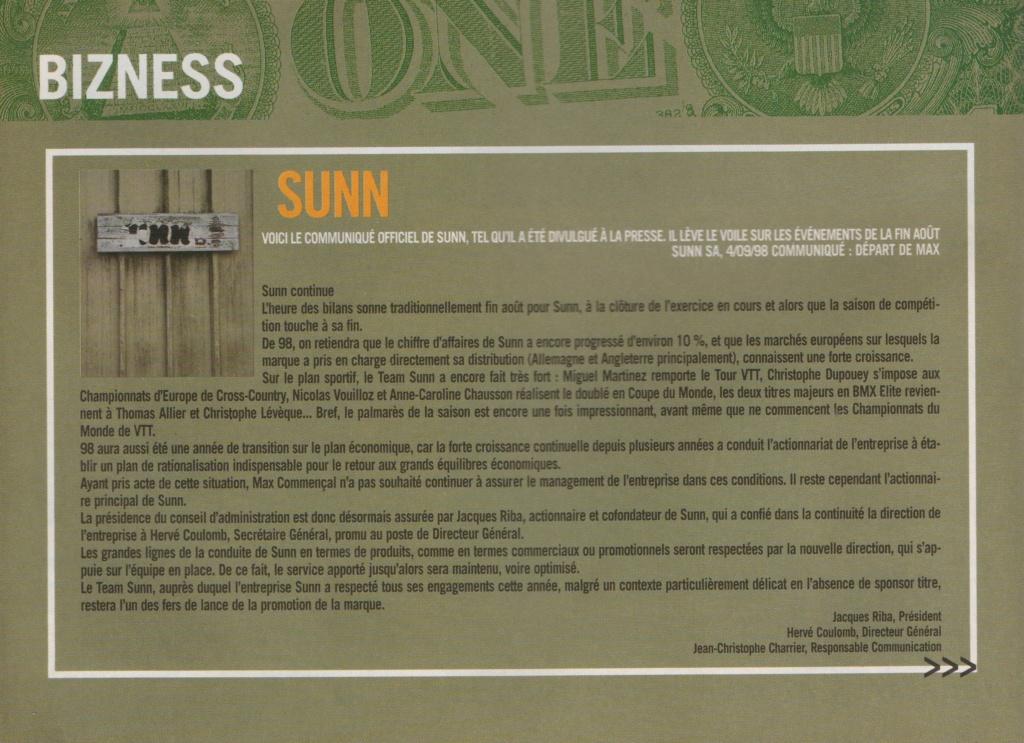 """E-Magazine """"Sunn, la belle époque"""" - Page 3 Depart10"""
