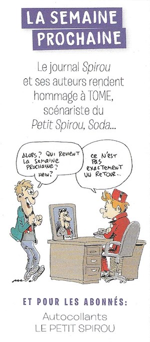 Spirou ... le journal - Page 31 Semain72