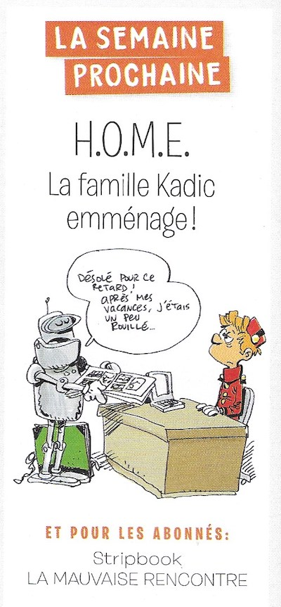 Spirou ... le journal - Page 31 Semain73
