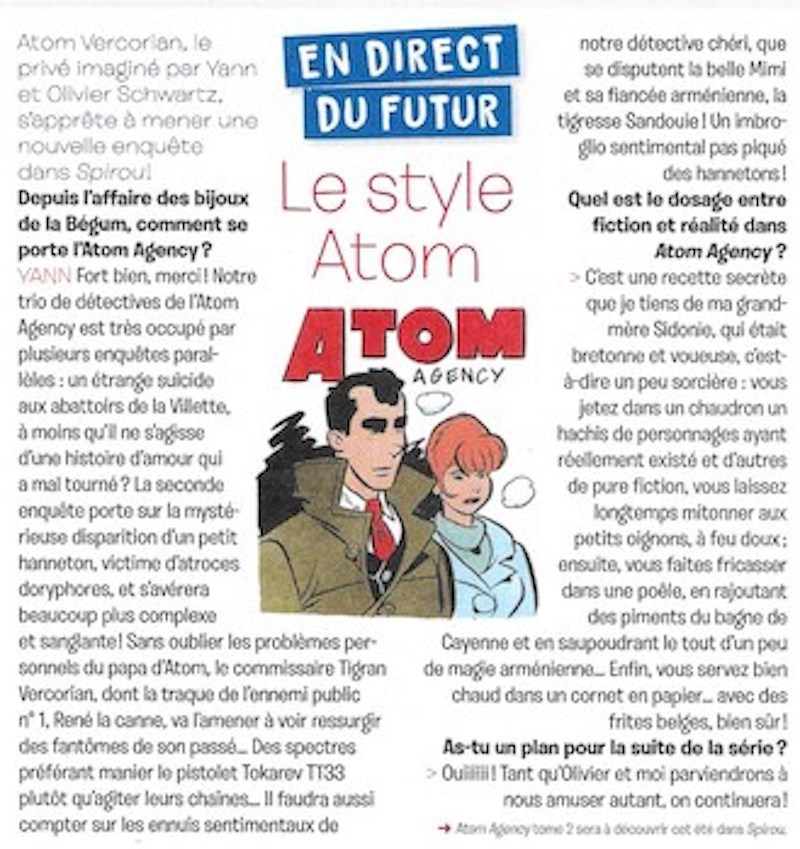Atom Agency par Yann et Schwartz - Page 2 Semain95