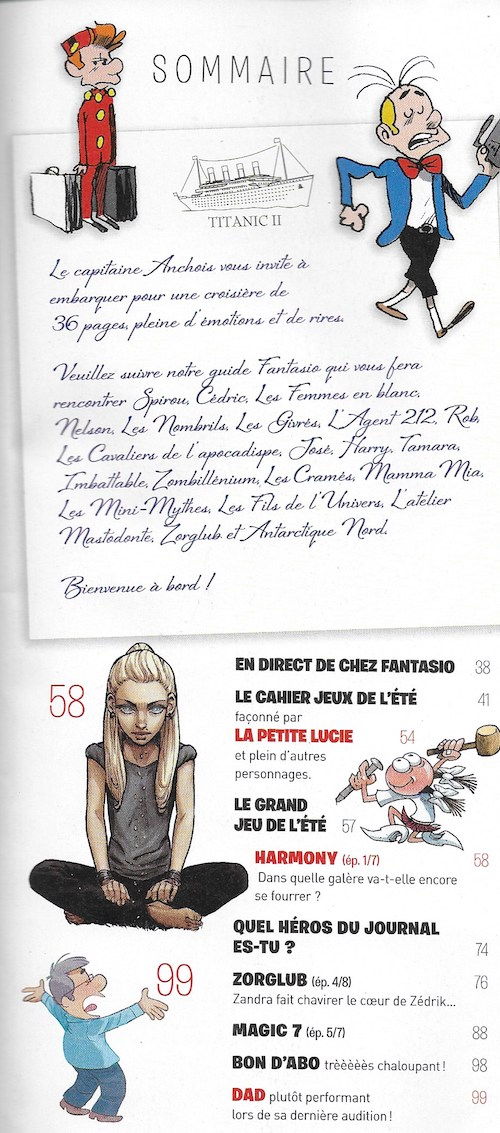 Spirou ... le journal - Page 23 Sommai10