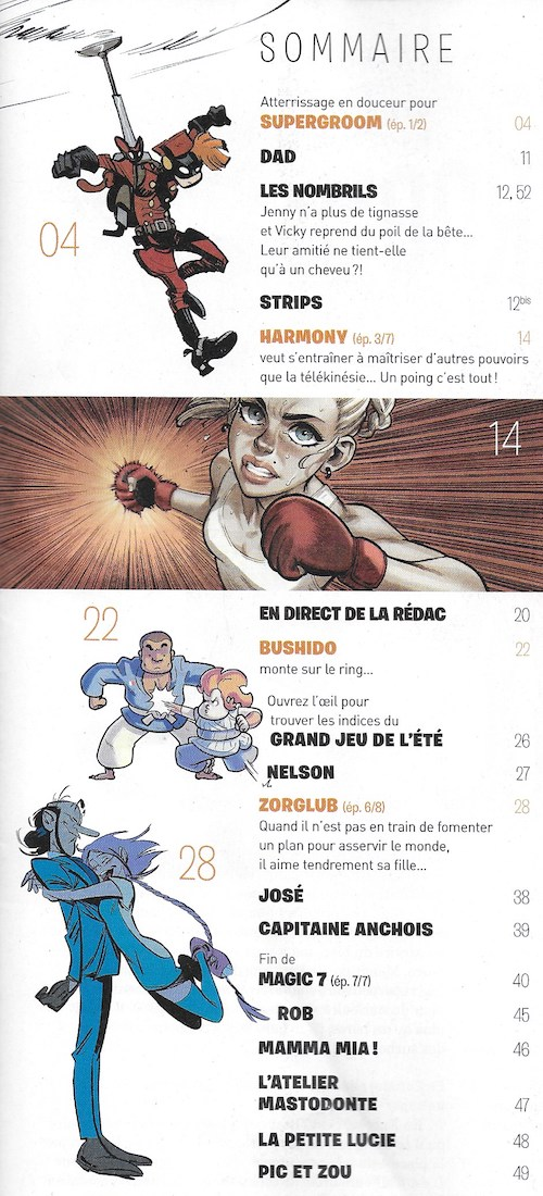 Spirou ... le journal - Page 24 Sommai12