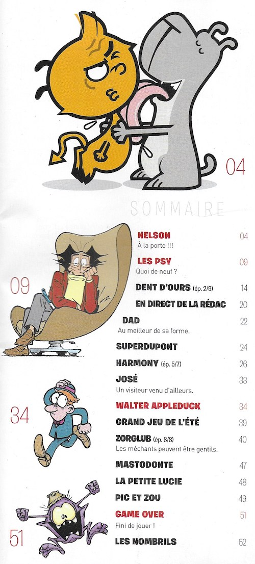 Spirou ... le journal - Page 24 Sommai14