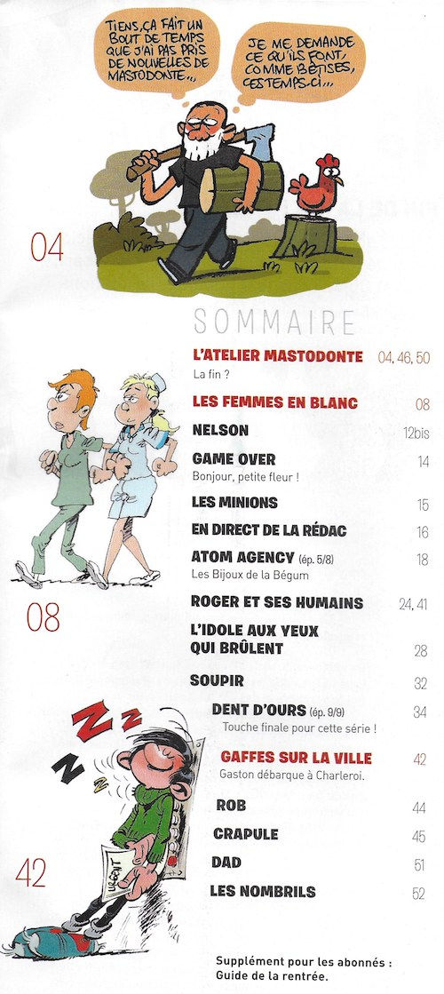 Spirou ... le journal - Page 24 Sommai21