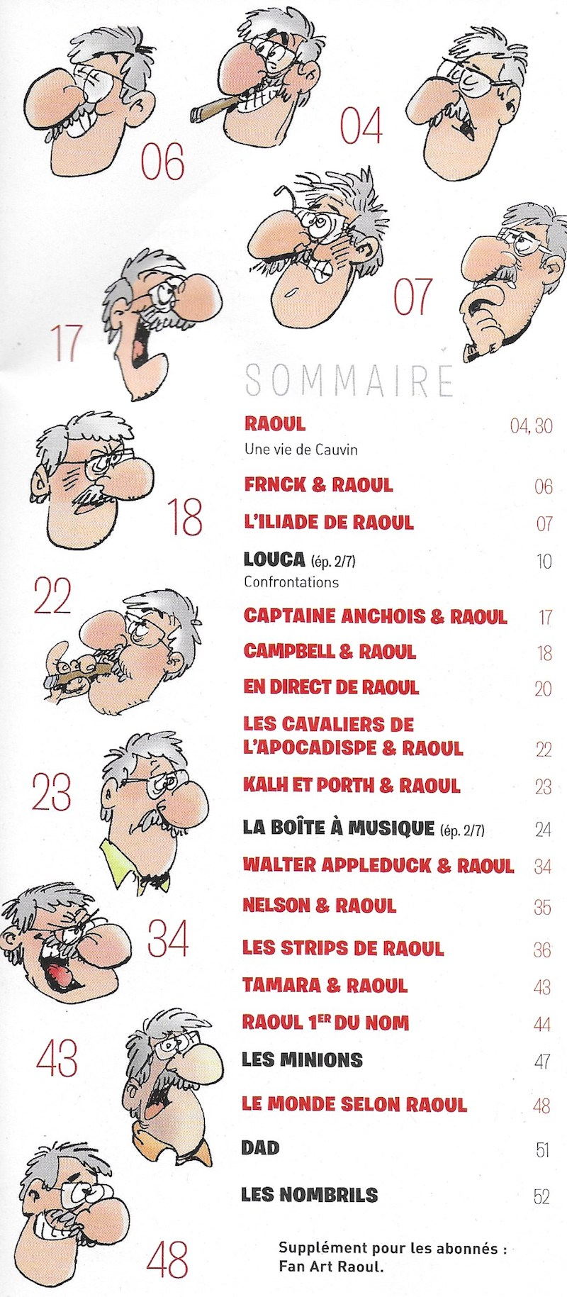 Spirou ... le journal - Page 25 Sommai22