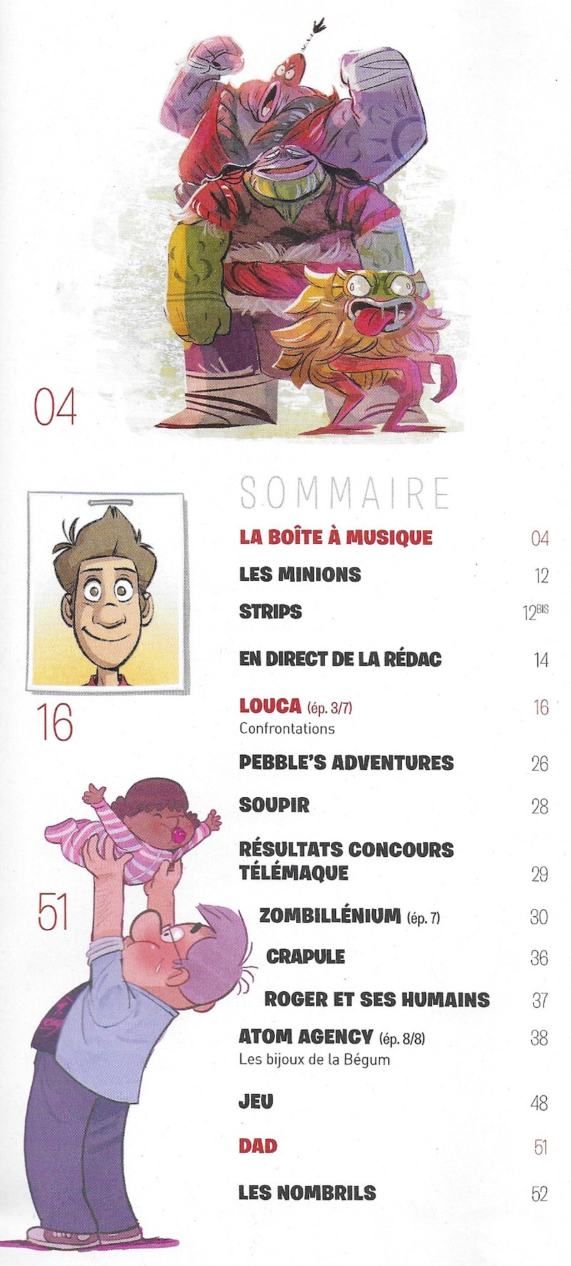 Spirou ... le journal - Page 25 Sommai24