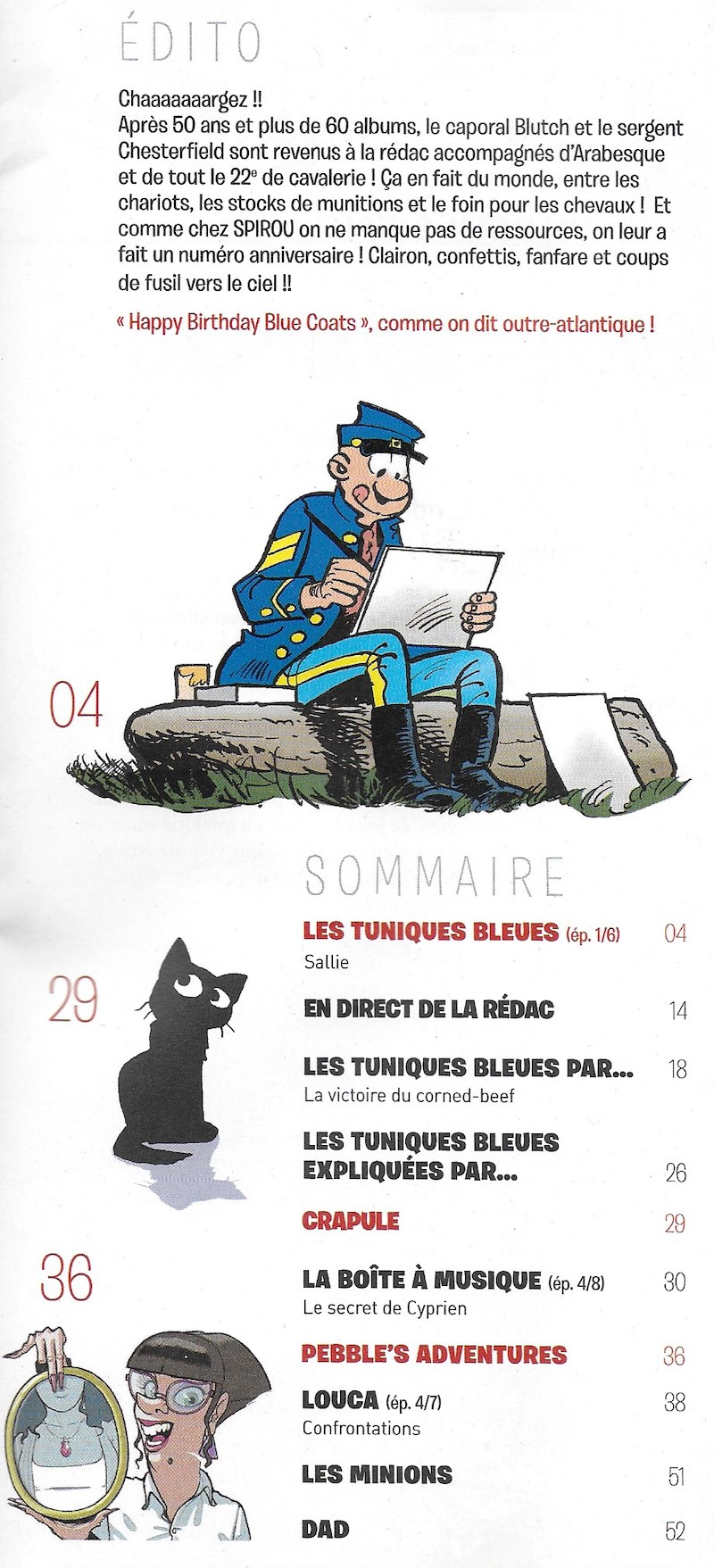 Spirou ... le journal - Page 25 Sommai26