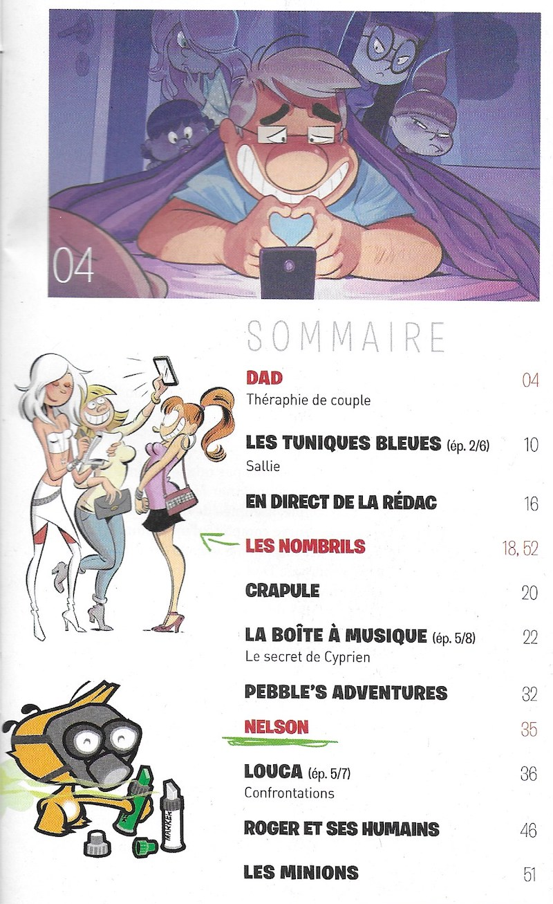 Spirou ... le journal - Page 25 Sommai27
