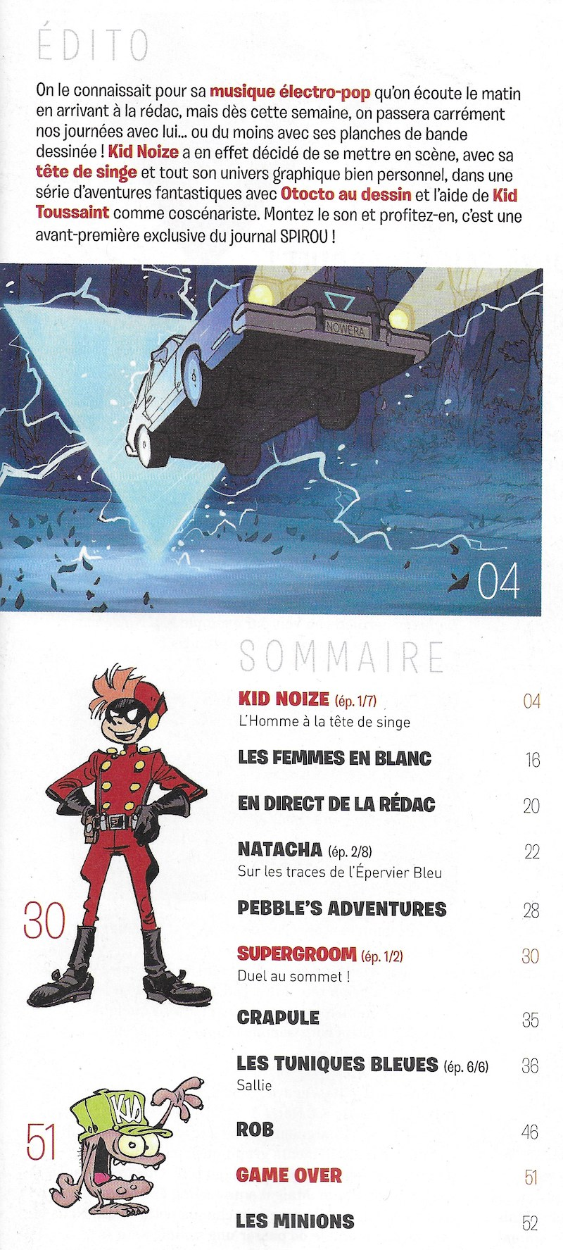 Spirou ... le journal - Page 25 Sommai31