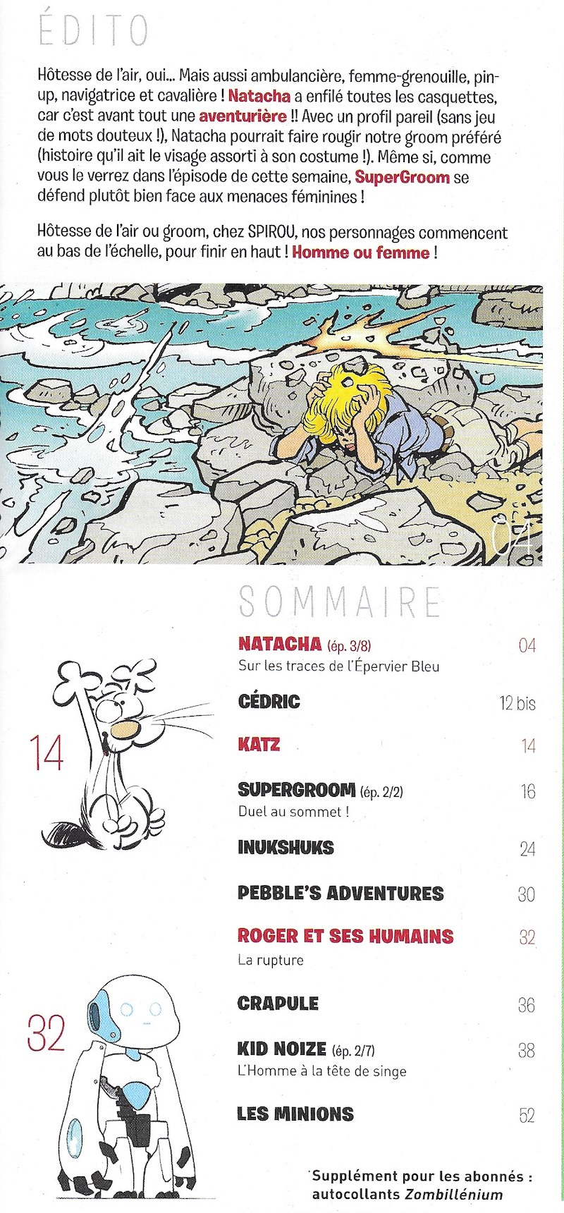 Spirou ... le journal - Page 25 Sommai32