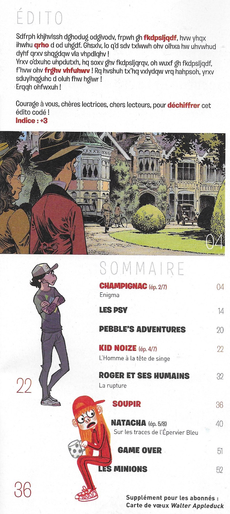 Spirou ... le journal - Page 25 Sommai33