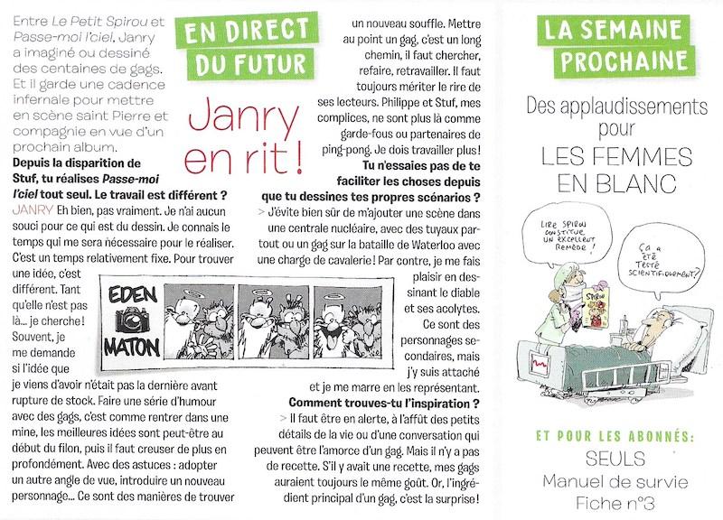 Spirou ... le journal - Page 34 Spirou64
