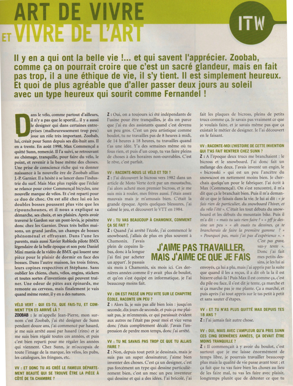 """E-Magazine """"Sunn, la belle époque"""" - Page 3 Zoobab11"""