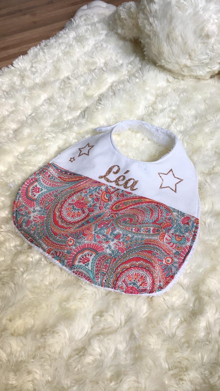 Artisana Bavoir+attache tétine pour bébé motard 3f816510