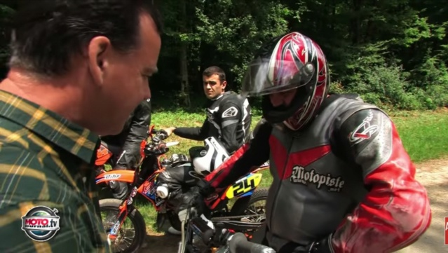 Motopiste partout, video moto journal le TT français  Screen64