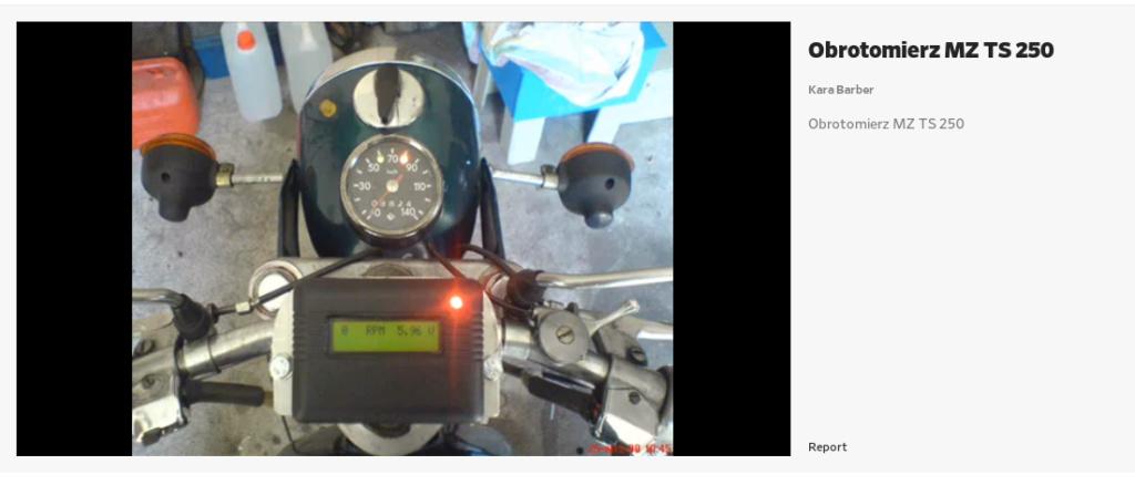 Un tachomètre (Obrotomierz) numérique Affich11