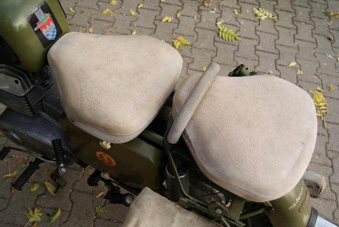 Historique : MZ de l'armée de RDA Double11