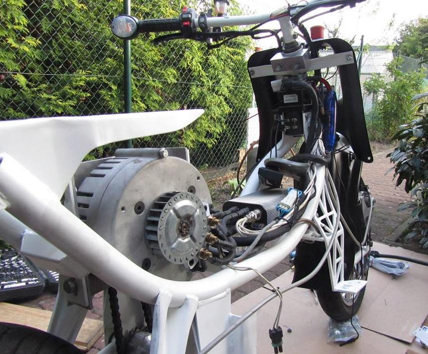 Scooters électriques de l'Est E-schw10