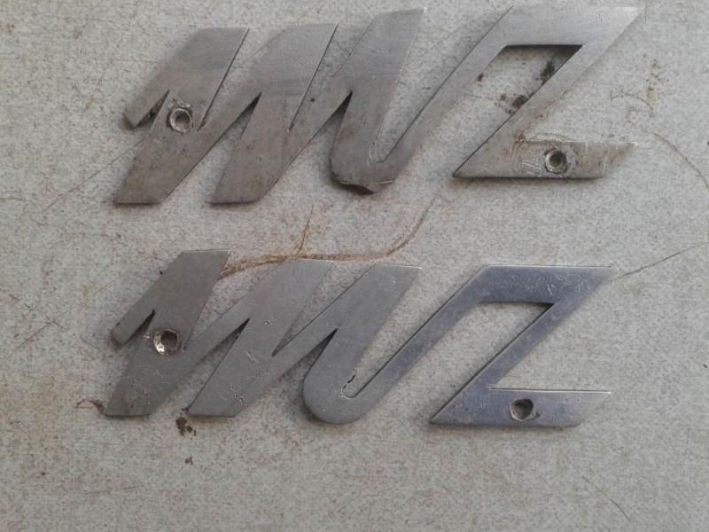 Emblème de garde-boue MZ Emblem10