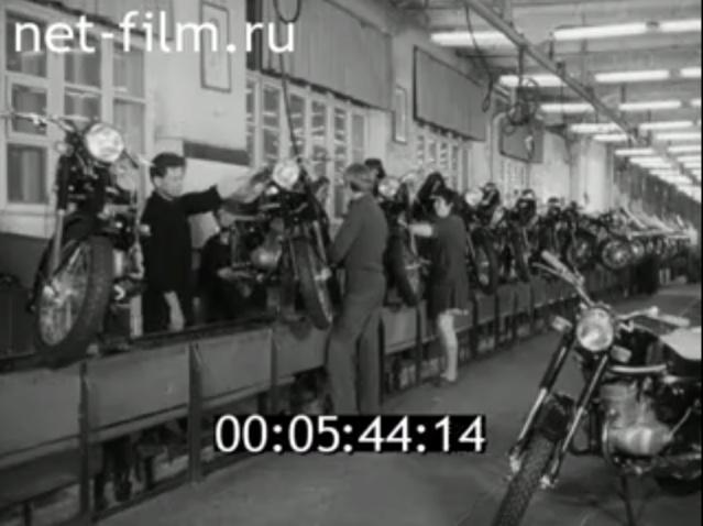 Plus à l'est : les motos Voskod Kovrov12