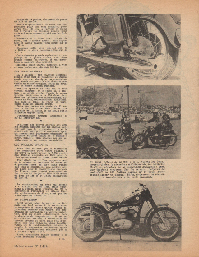Les motos Balkan Motore14