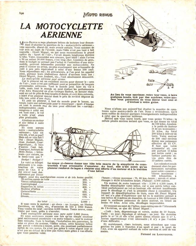 La motocyclette de l'air Motore23