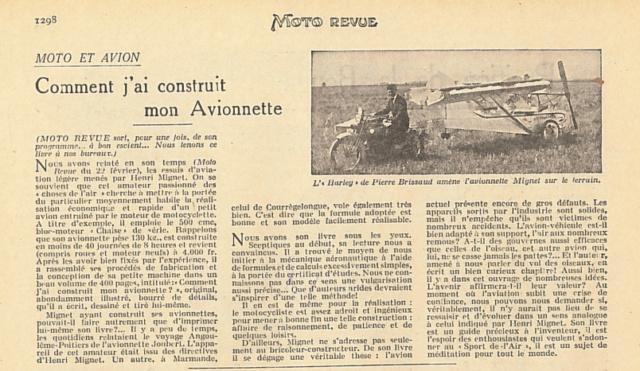 La motocyclette de l'air Motore24