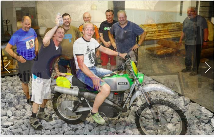 2021 Zschopau ouverture musée enduro Mz15